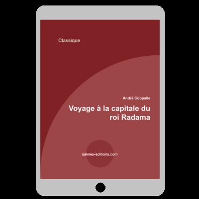 Couverture ebook Voyage à la capitale du roi Radama