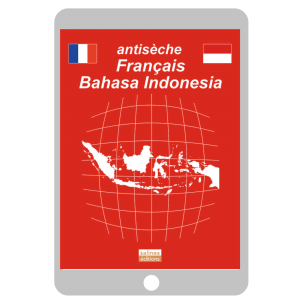 Couverture ebook Antisèche Français - Bahasa Indonesia