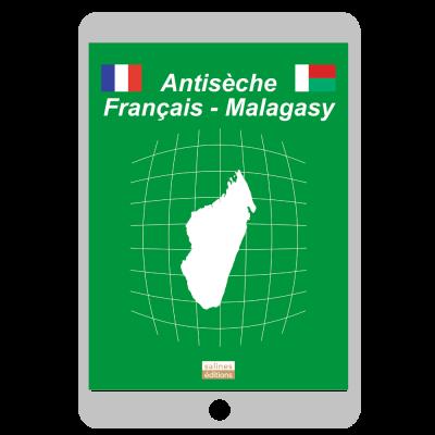 Couverture ebook Antisèche Français - Malagasy