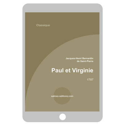 Couverture ebook Paul et Virginie