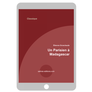 Couverture ebook Un parisien à Madagascar