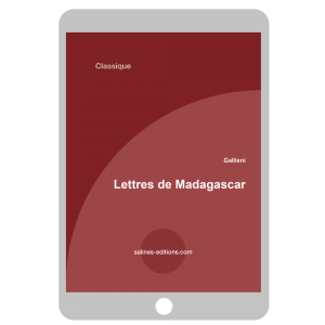 Couverture ebook Lettres de Madagascar