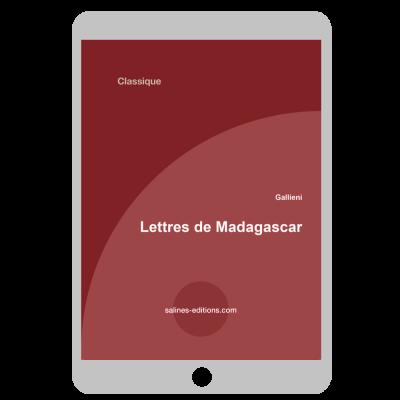 Couverture ebook Lettres de Madagascar