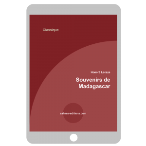 Couverture ebook Souvenirs de Madagascar