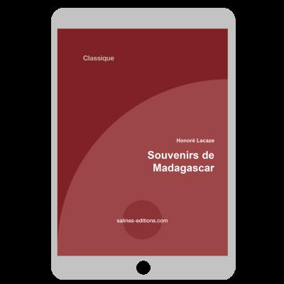 Couverture ebook Souvenirs de Madagascar