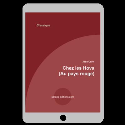 Couverture ebook Chez les Hovas - Au pays rouge