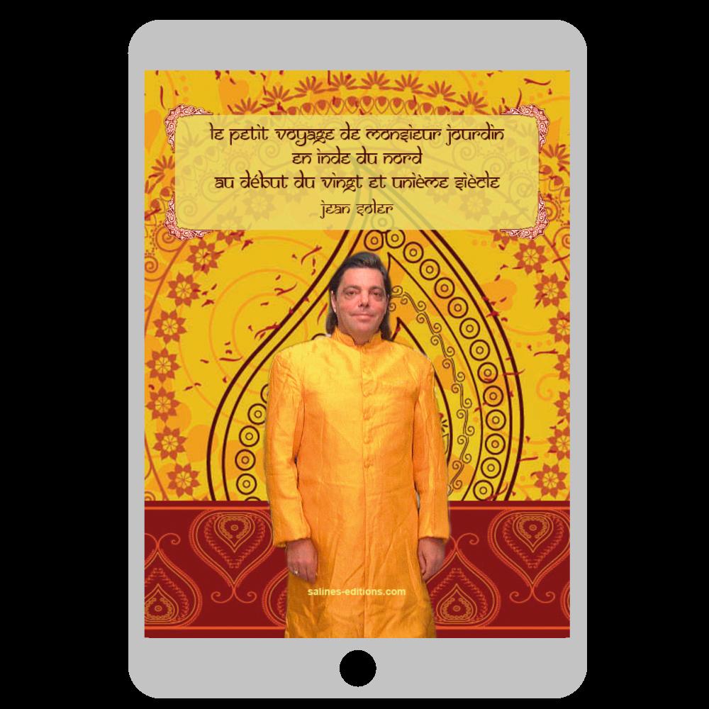 Couverture Le petit voyage de Mr Jourdain en Inde du Nord