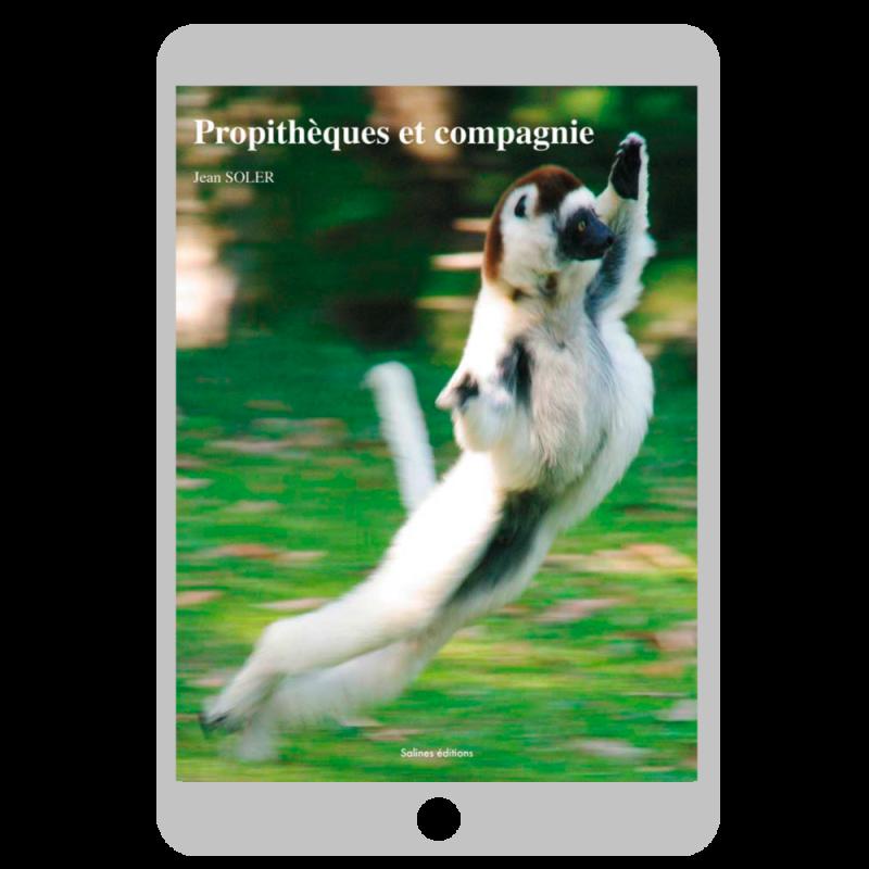 Couverture ebook Propithèques et compagnie