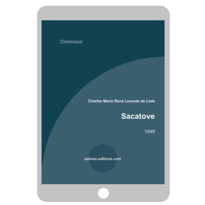 Couverture ebook Sacatove