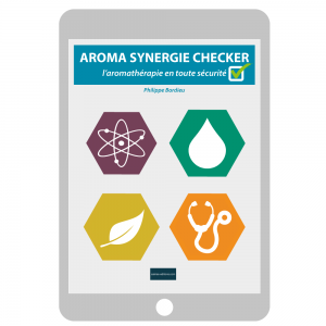 Couv. ebook Aroma Synergies Checker - Philippe Bordieu