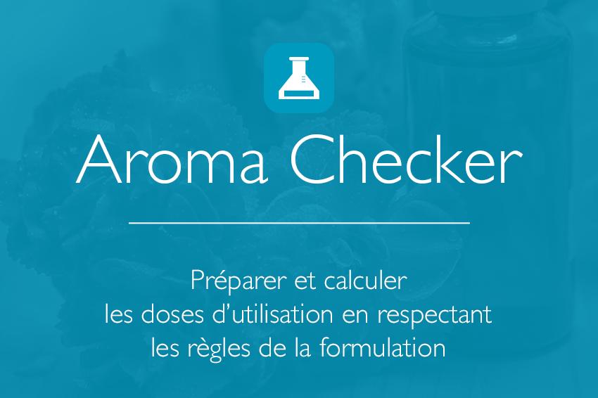 Image slider Aroma Synergie Checker - Aromathérapie - Checker