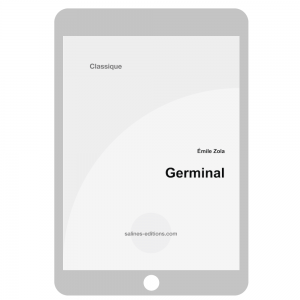 couv. ebook Germinal - Émile Zola