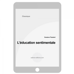 couv. ebook L'éducation sentimentale - Gustave Flaubert