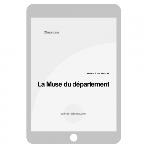 couv. ebook La muse de département - Honoré de Balzac