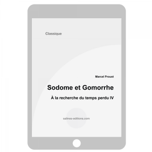 couv. ebook Sodome et Gomorrhe - Marcel Proust