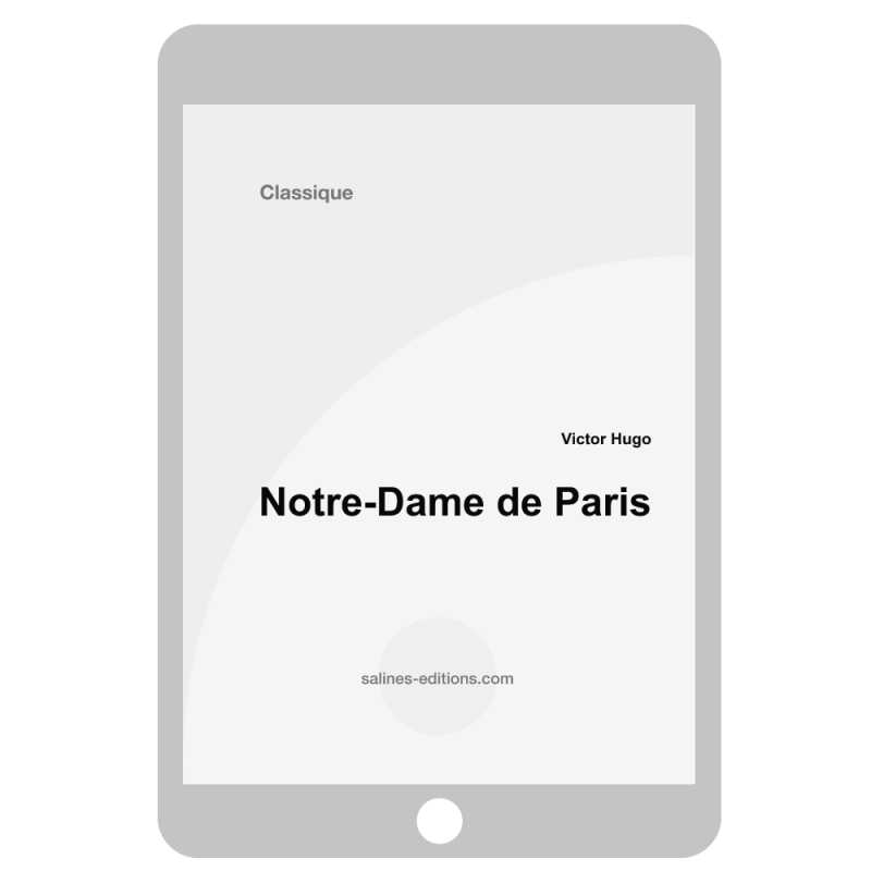 couv. ebook Notre-Dames de Paris - Victor Hugo