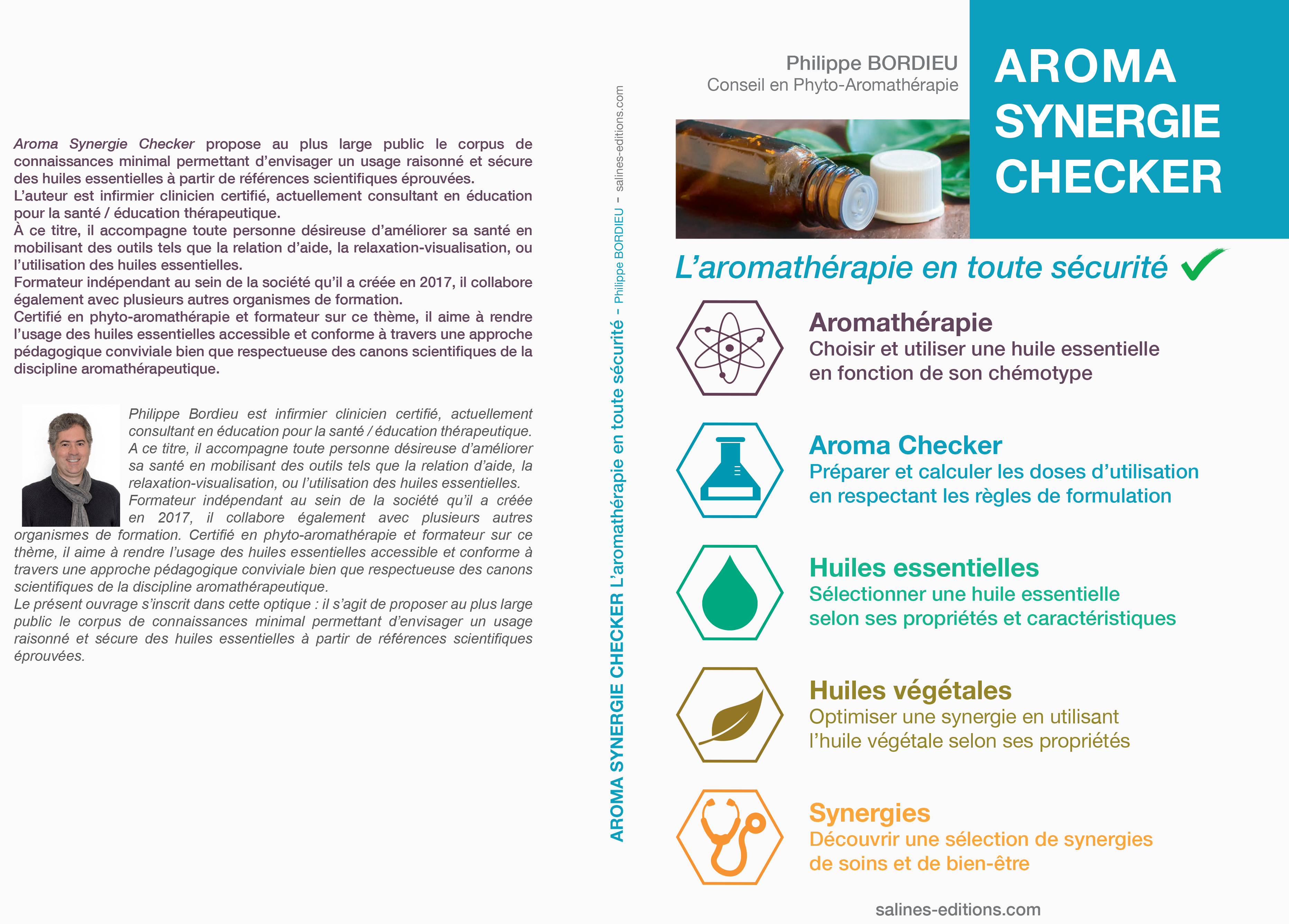 Couv. imprimé Aroma Synergie Checker