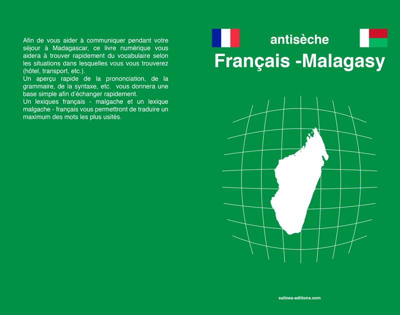 Couv. imprimé antisèche malagasy