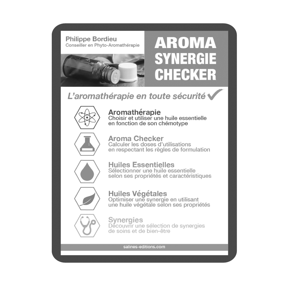 Couv. liseuse Aroma Synergie Checker