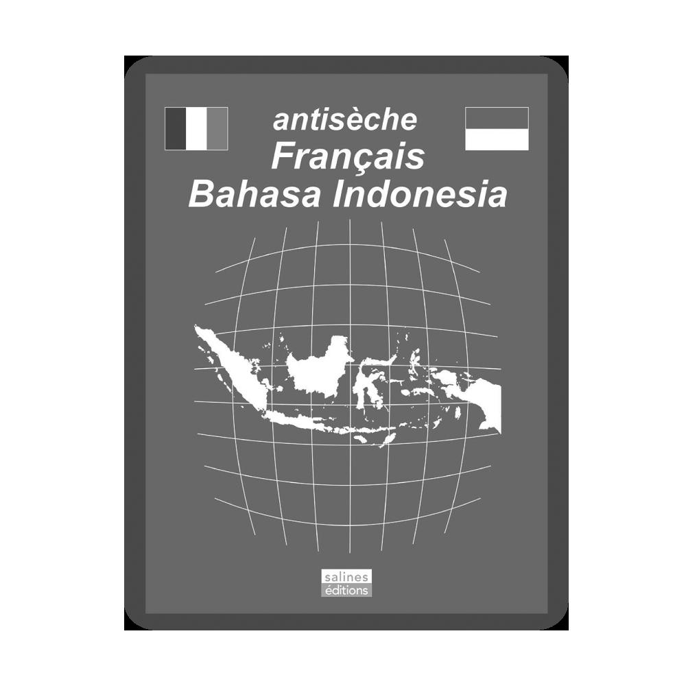 Couv. liseuse antisèche bahasa indonesia